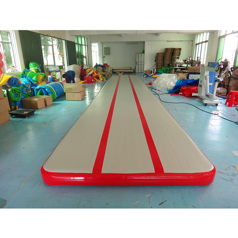 Kids training inflatable air track gymnastic air tumbling mattress for sale hot sale inflatable air tumble track gymnastics for sale