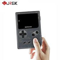 JRGK RS 90 Mini Classic Game Console Portable Video Music Handheld Games Gaming Player Support 32GB TF Card For Child Kids Gift