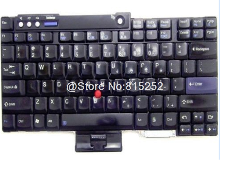 Laptop Keyboard For Lenovo For THINKPAD T60 T60P T61 T61P R60 R60E R60I English US 42T4066 New new english laptop keyboard for lenovo thinkpad edge e530 e530c e535 us keyboard 04y0301 0c01700 v132020as3