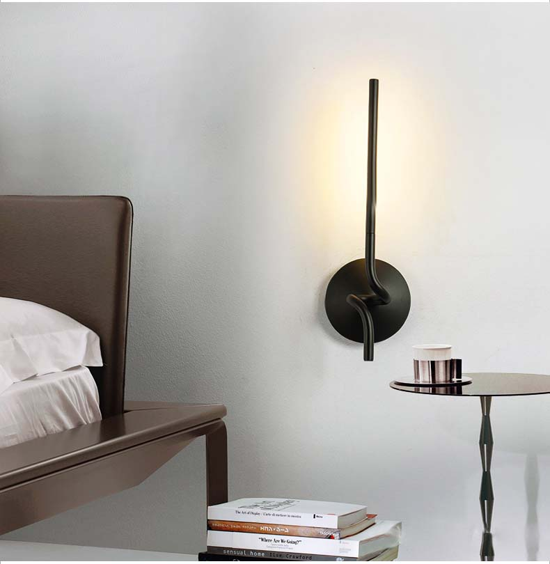 Modern Wall Sconces Bedroom : ?Modern Simple LED Wall ?? ?? Sconce Sconce Bedroom Bedside Wall ?? ?? Light Light Nordic ...