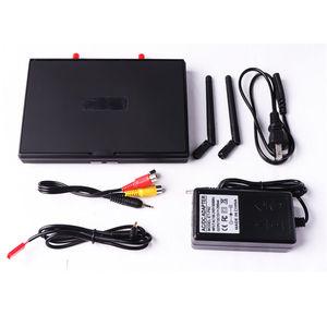 Image 2 - Pantalla de vídeo para multicóptero FPV LCD5802S LCD5802D 5802 5,8G 40CH 7 pulgadas, 800x480 con DVR, batería integrada