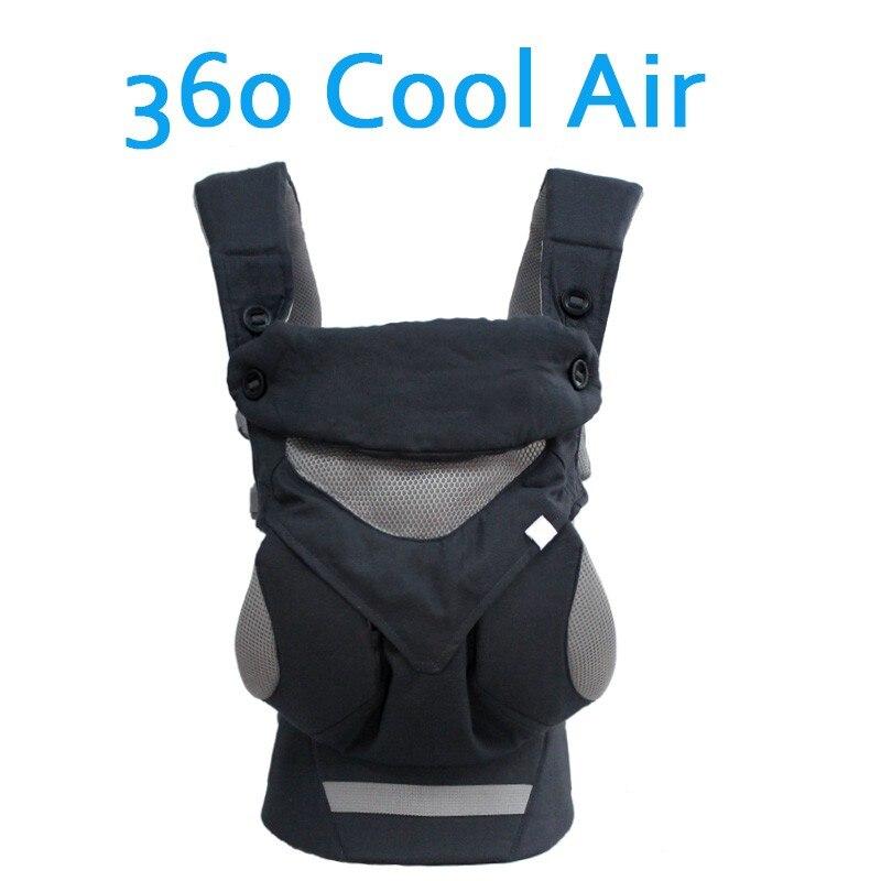 2016 четыре позиции 360 прохладный воздух Baby Carrier многоцелевой дышащий младенческой Перевозчик Рюкзак переноска для детей малыша слинг обёрто...