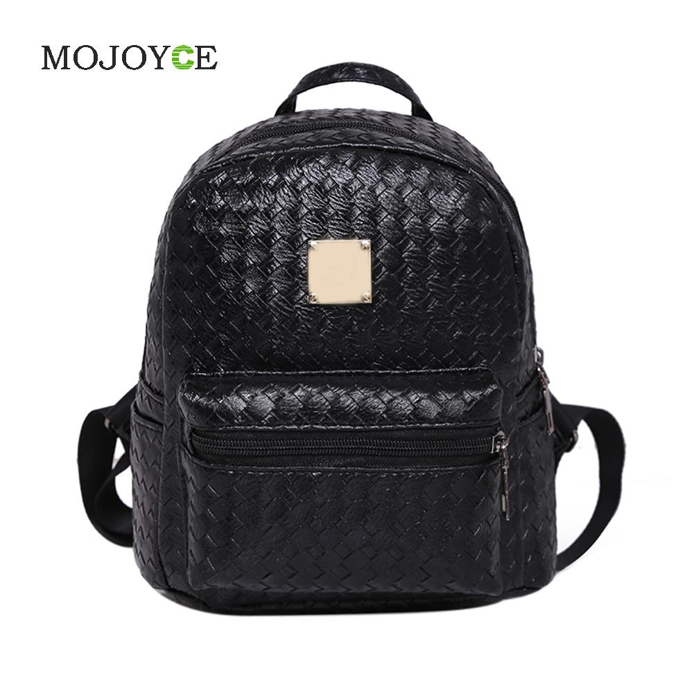 College Wind Schoolbag Leather Backpack Korean Woman Bag Travel Bag Backpack Rucksack School Bag for Teenage Girls Bolsa