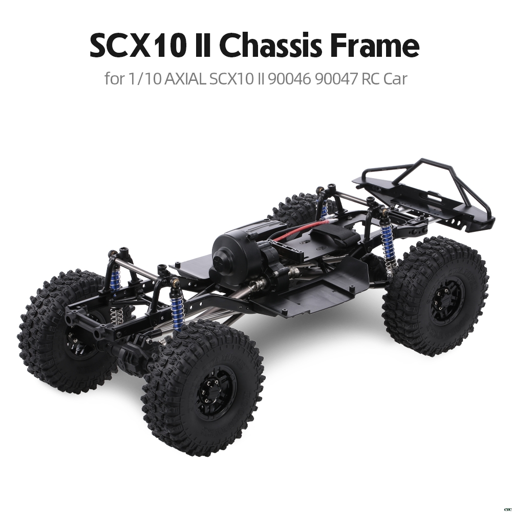 313mm/12.3 Inch Wheelbase Chassis for 1/10 RC Crawler SCX10 II 90046 90047 RC Car-in Parts & Accessories from Toys & Hobbies    1