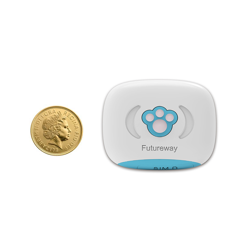 Mini Pet GPS Tracker FP03 Real Time Global Locator With Collar/Cover for Animal/Cars support Free app Remote shutdown