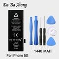 Original Da Da Xiong Battery For Apple iPhone 5 5G 1440mAh Real Capacity With Machine Tools Kit Replacement Batteries
