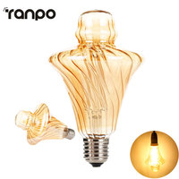 Ściemniania Edison Słomkowy Kapelusz DOPROWADZIŁY Żarnik żarówki LED E27 4 W 220 V-240 V żarówka Żarówki Rocznika Antyczny Wystrój Domu Żarówki Świeca lampa