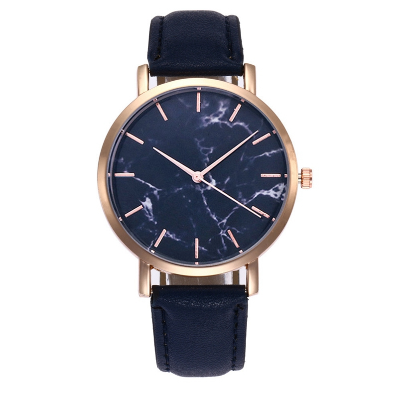 New Arrive 2018 Womens Watches Women Casual Leather Quartz Watches Bracelet Dress Watches Wristwatches dropship for gift 01