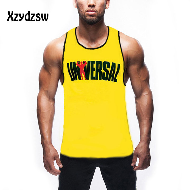 d9eb671254639 Bodybuilding Singlet Tank Top Men Famous Brand Animal Gold Fitness Clothing  Muscle Shirt Vest Regata Masculina Gyms Tops Men