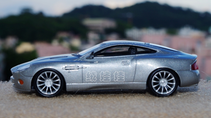 DEAGOSTINI ASTON MARTIN V VANQUISHALLOY MODEL CAR COLLECTION - Aston martin v12 vanquish
