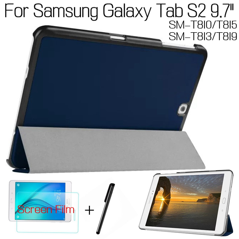 Подробнее о High Quality Stand Smart Cover PU Leather Case for Samsung Galaxy Tab S2 9.7
