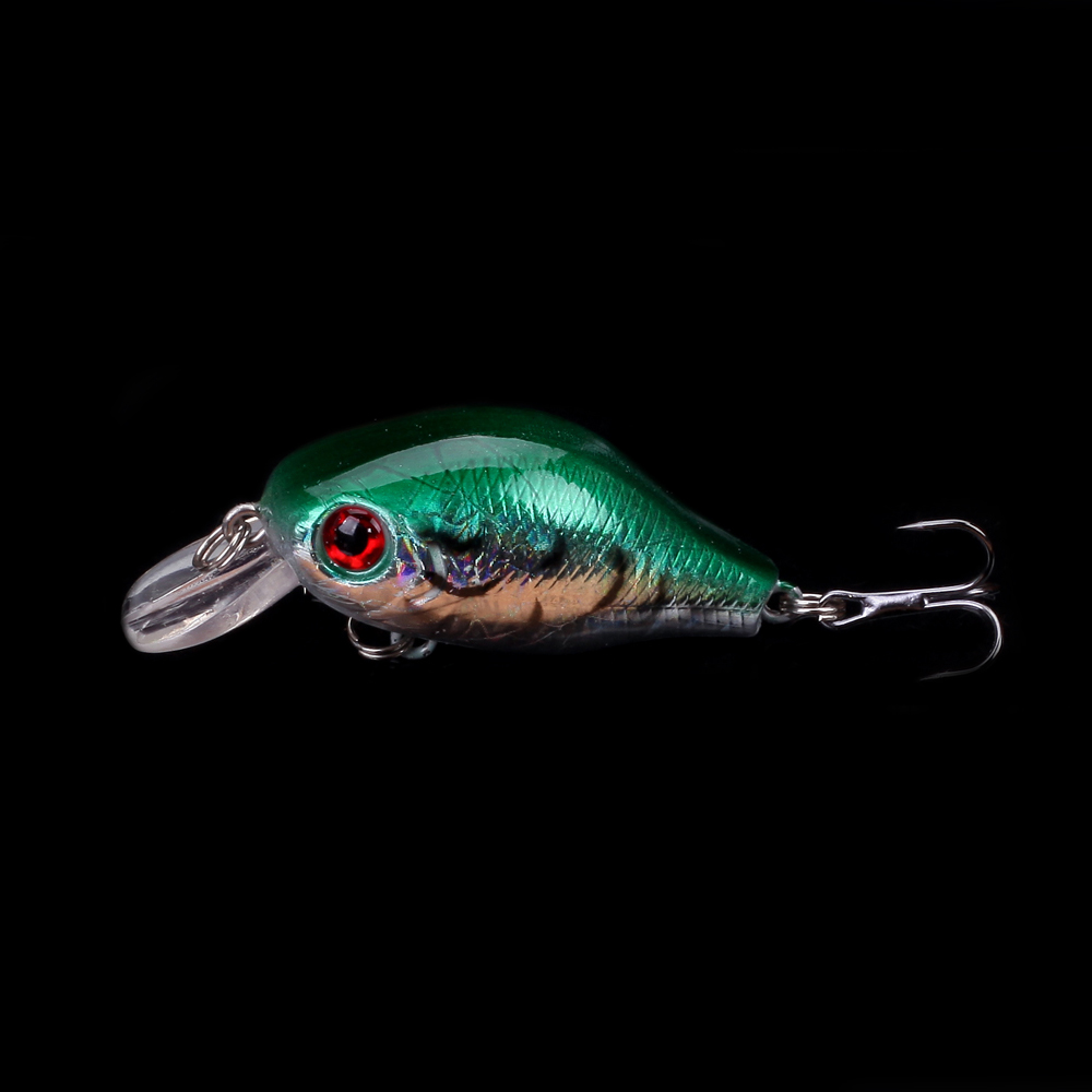 WALK FISH 1PCS 5.5cm 7.7g Fishing Lure Crank Bait Crankbait Wobbler with Hooks Saltwater Fishing Tackle