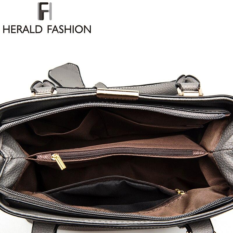 Herald Fashion PU ტყავის ზედაპირით - ჩანთები - ფოტო 6