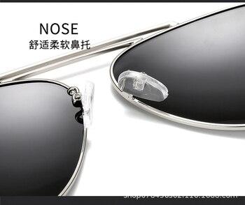 Designer Verschreibungspflichtige Sonnenbrillen | Neue Design Doppel Brücke Kurze Anblick Sonnenbrille Polarisierte Spiegel Sonnenbrille Nach Maß Myopie Minus Rezept Objektiv-1 Zu -6