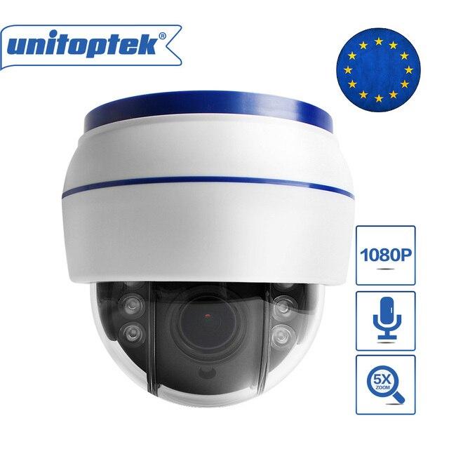 HD 1080P אלחוטי כיפת PTZ IP מצלמה WIFI אוטומטי פוקוס 5X זום עדשה מקורה אודיו + SD כרטיס חריץ לילה לילה ONVIF WI FI אבטחת מצלמת