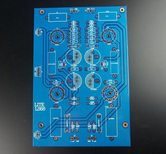 Carte vide 12AX7 de carte PCB de préamplificateur de Tube de carte PCB de LITE LS68