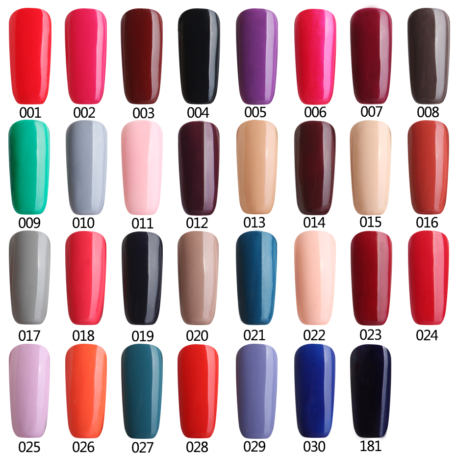 Ali Lowest Price Guaranteed Color Fashion Nail Polish Soak-off LED UV Gel Color Hot Nail Gel 2017 latest colors and best sellers