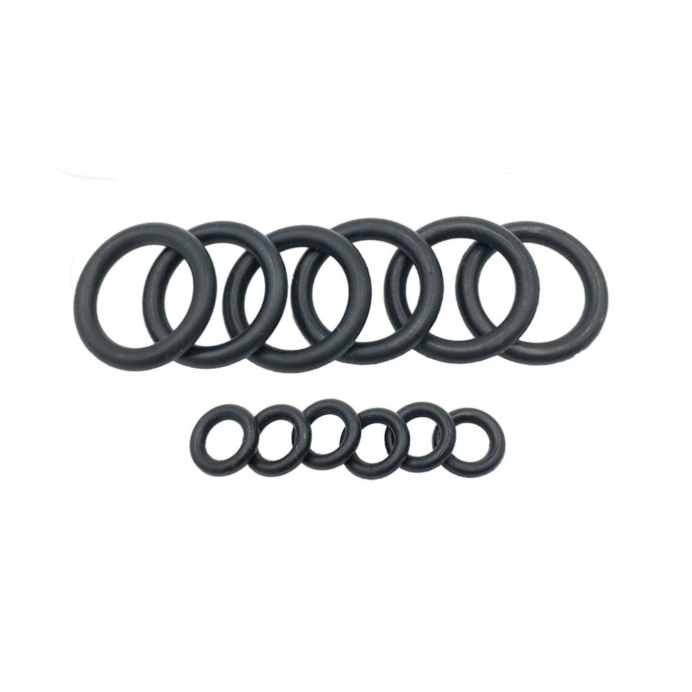 12pcs Black Seal O Ring Garden Hose Nozzle Rubber Washer Gasket For Replacement 13cm + 9cm