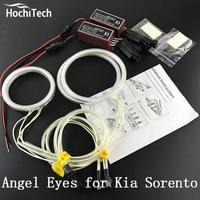 HochiTech Excellent CCFL Angel Eyes Kit Ultra Bright Headlight Illumination For Kia Sorento R 2009 2010