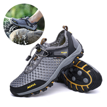 Summer Lover Hiking Shoes Waterproof Breathable Mesh Outdoor Sneaker MenTrekking Boots Trail Camping Climbing Hunting Sneakers