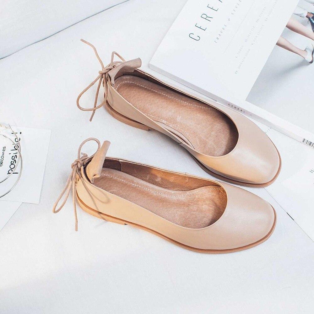 ФОТО Krazing Pot new fashion brand shoes genuine leather slip on round toe preppy style low heel bowtie women pumps mary jane shoe 19