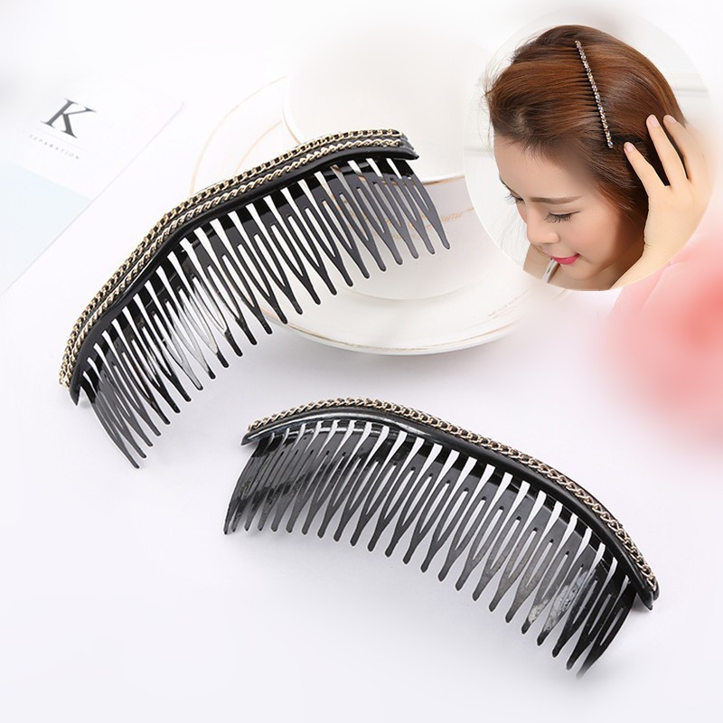 Black Comb Beauty Health Fringe Comb Coil Hair Combs Hair Clips Hair Accessories Hairdressing Styling Tools