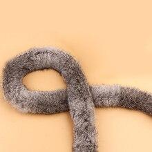 Швейные аксессуары ленты искусственный мех кролика Пушистый DIY костюм Обрезка ленты пуховик пушистый