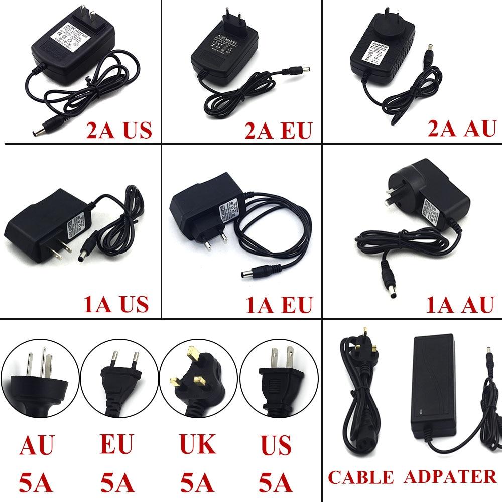 Adaptadores Ac/dc para tira conduzida 12 w Interface de Saída : 5.5mm * 2.1mm