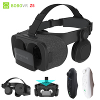 Original BOBOVR Z5 VR 3D Stereo Glasses Google Cardboard Virtual Reality VR Phone Headset Helmet Box