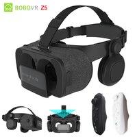 Original BOBOVR Z5 VR 3D Stereo Glasses Google Cardboard Virtual Reality VR Phone Headset Helmet Box