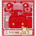 2016 Лето Новорожденный Ребенок Подарочный Набор Детские Хлопок Девочка Модной Одежды Горячей Продажи
