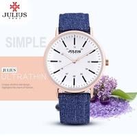 2019 Watch Women JULIUS brand luxury Fashion Casual Quartz Watches Lady relojes mujer women wristwatches Girl Dress clock Gifts