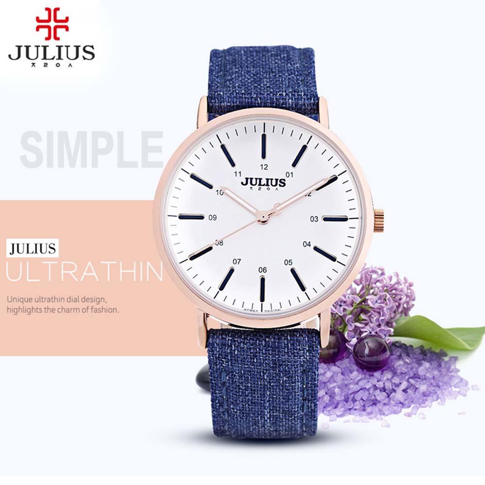 Prix pour 2017 Montre Femmes JULIUS marque de luxe De Mode Casual Montres À Quartz Dame relojes mujer femmes montres Fille Robe horloge Cadeaux