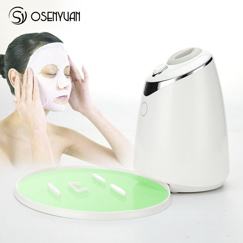Masque Facial Machine automatique fruits masque Facial fabricant avec des fruits végétaux naturels matériel bricolage masque avec collagène voix anglaise