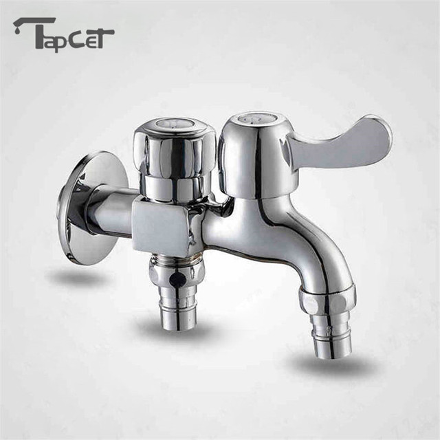 Multifunctional Double Outlet Taps Dual Connect Washing Machine ...