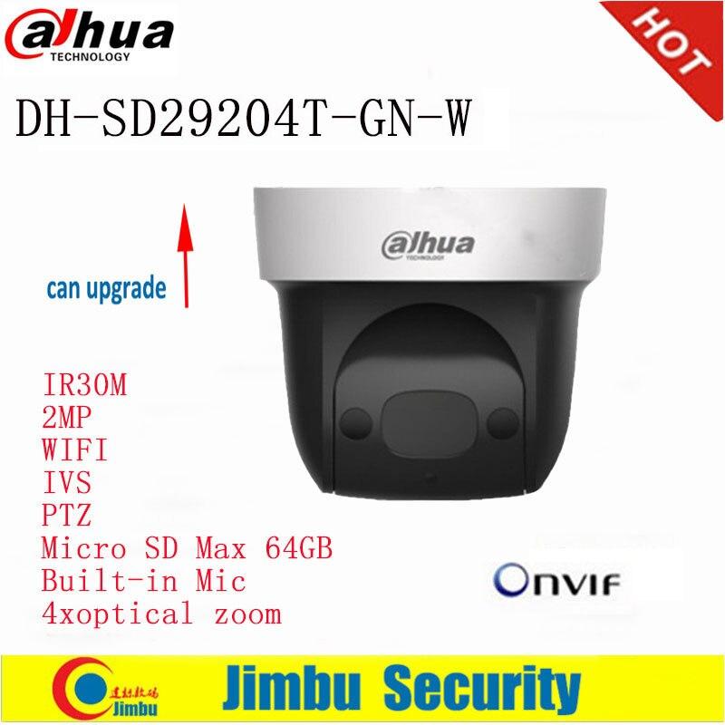 купить Dahua PTZ Camera English version SD29204T-GN-W 2Mp Network WIFI IP Camera Built-in Mic 4xoptical по цене 10275.78 рублей