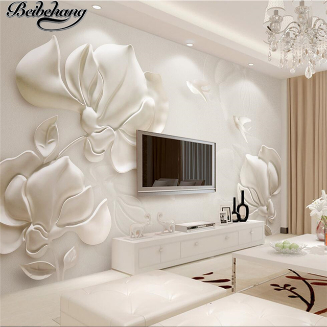 Beibehang Custom 3d Wallpapers Three Dimensional Plaster