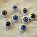 30pcs16*16mm BJD dolls eyes Plastic eyeballs doll accessories BJD toys accessories