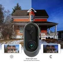 Умный видео дверной звонок Интерком 720p Дверной Сигнализация