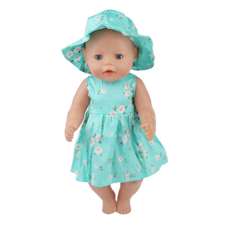 Skirt hat Zapf babies born baby clothes for 43 cm the child s best birthday present
