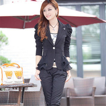 Autumn Womens Blazers And Jackets Female Sweet Suit Outerwear Coat 6 Colors Women Blazer Femininas Tops Plus Size S-5XL C1228