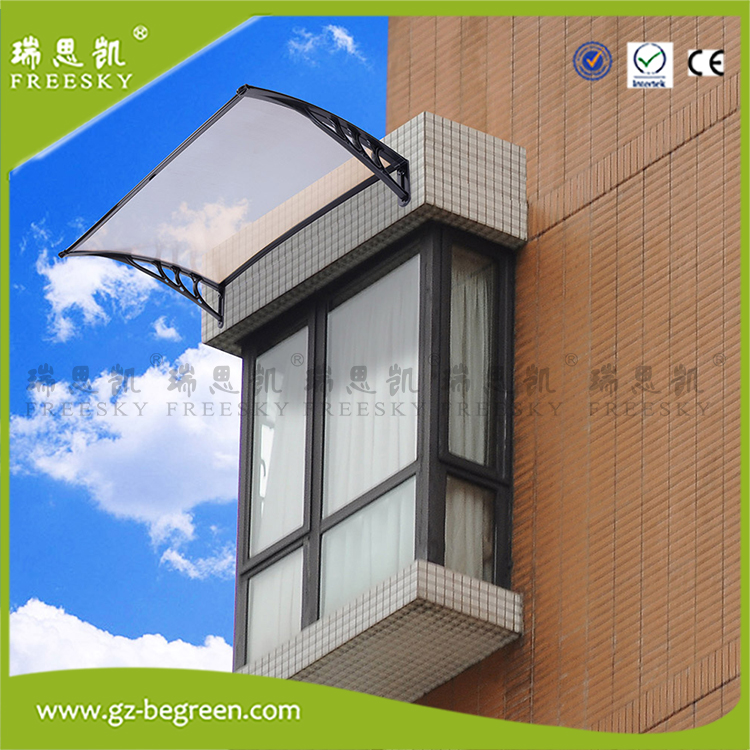 YP80300 80x100cm 80x200cm 80x300cm Outdoor Polycarbonate Front Door Window Awning Patio Cover Sun UV Canopy yp80100 80x100cm 80x200cm 80x300cm clear window awning diy overhead door canopy decorator patio cover