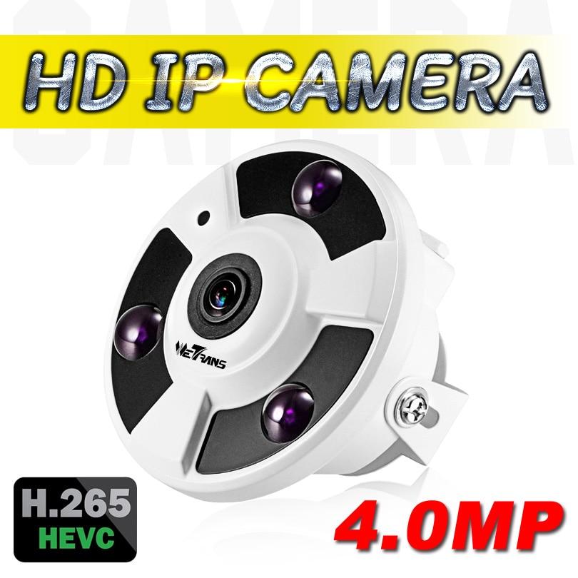 New Fisheye Lens IP Camera 4.0MP 180 Degree Panoramic 1.8mm 2.0Megapixel 1080P Full HD 15m Night Vision IP Network Camera indoor fisheye ip camera poe onvif 170 degree 1 8mm panoramic lens 15m ir night vision 720p hd ip network camera 960p