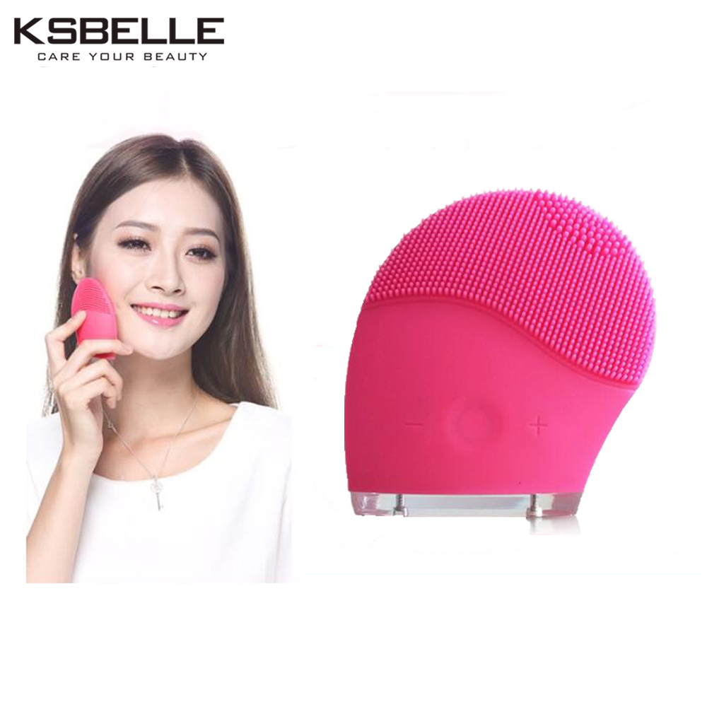 Electric Vibrating Sonic Facial and Body Cleansing Brush Face Brush Waterproof Skin Exfoliating Cleansing System for Deep Clean 4 in 1 new electric sonic facial cleansing brush skin spa care electric face scrub deep cleansing brush