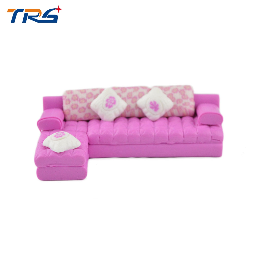 Fancy Sofa Us 25 1 50 Scale Diy Ceramics Model Sofa Miniature Fancy Sofa Set For Indoor Design Scene Layout In Model Building Kits From Toys Hobbies On