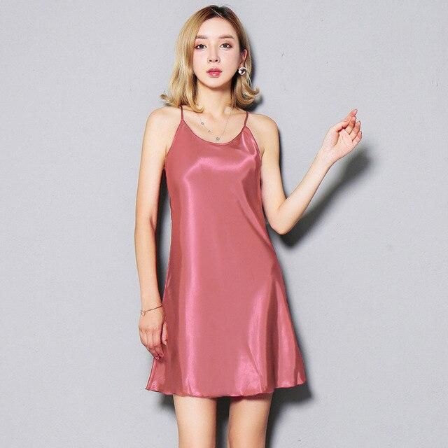 seven colorsimulation silk harness dresses wear petticoat ...