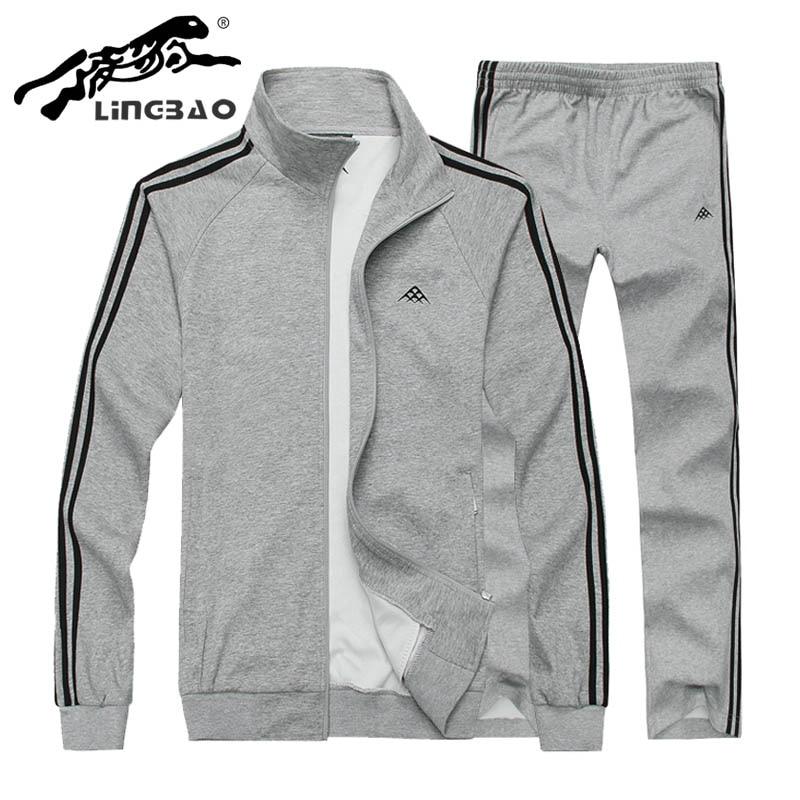 Brand-clothing New hip hop Men autumn Winter Warm Apparel sportswear men Set Hoodie Jacket Activewear sweatshirt men G124R
