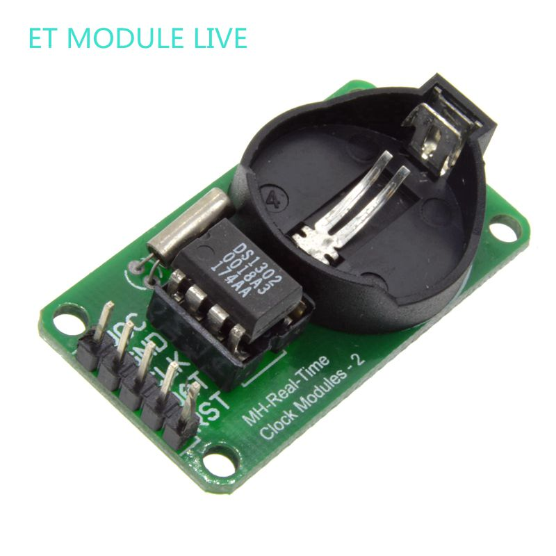 все цены на  10PCS New Arrival RTC DS1302 Real Time Clock Module For AVR ARM PIC SMD for Arduino  онлайн