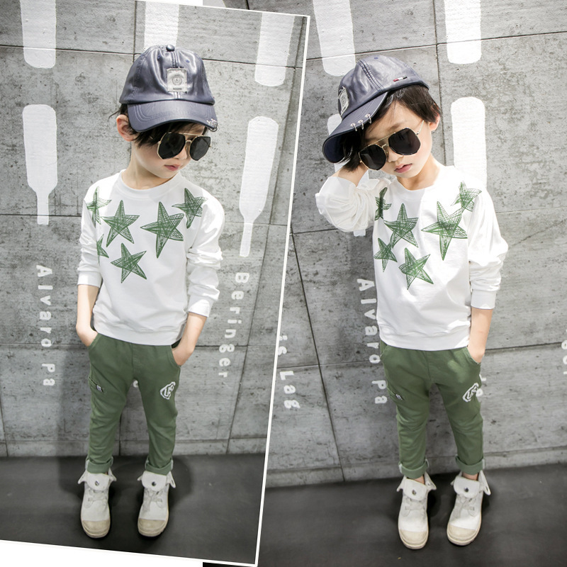 Autumn Long Sleeve T Pity Will Child Children Jacket Catamite Stars Profound Generation Coat in Hoodies Sweatshirts from Mother Kids