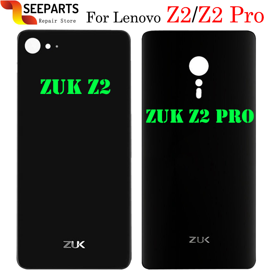 Zuk z2 Glass Battery Back Cover Lenovo ZUK Z2 housing Back Door Cover Cases+3M Adhesive New Repair Lenovo ZUK Z2 Pro Back Cover